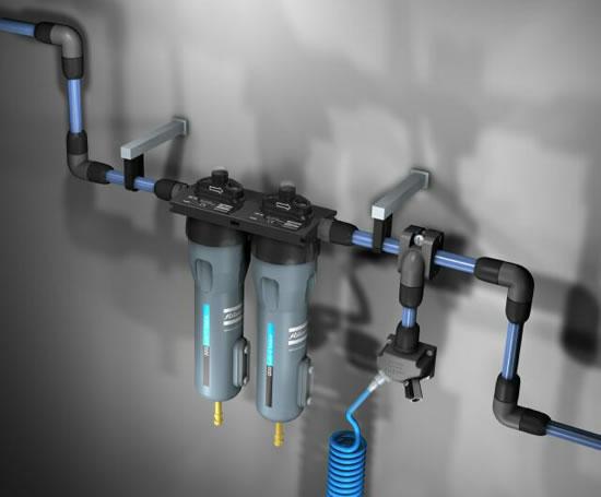 Airnet sistem cijevi sa filterima